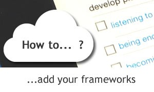 How to add your Frameworks