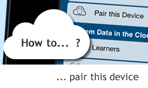 Evidence for Learning Tutorial: How to pair your device